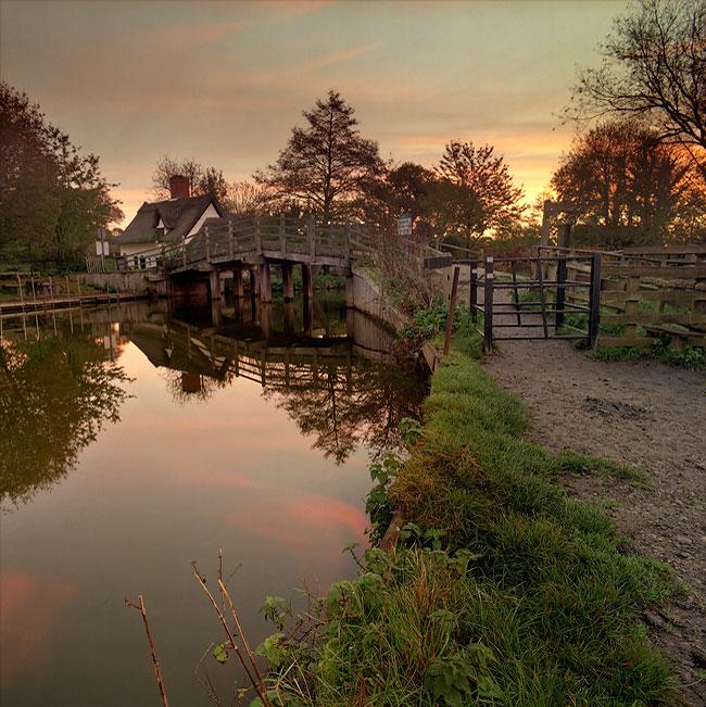 Flatford Morning 2, by DaveBulow
