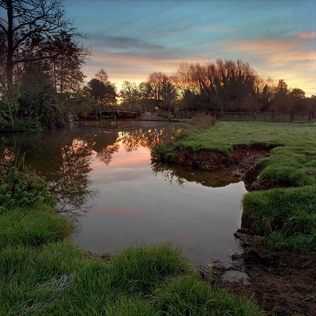 Flatford Morning 3, by DaveBulow