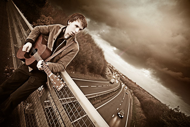 Nick Green Band Photography Ipswich, Music Artist Portraits, by DaveBulow