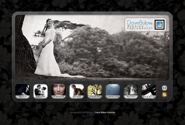 New DaveBulow Wedding Photography Website for 2010